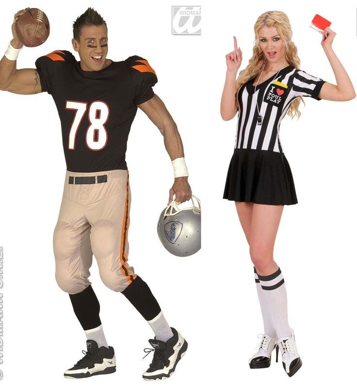 Football Player And Referee Costumes Google Search Couples