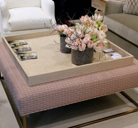 Handcrafted Wooden Ottoman Tray To Dress Up Your Living