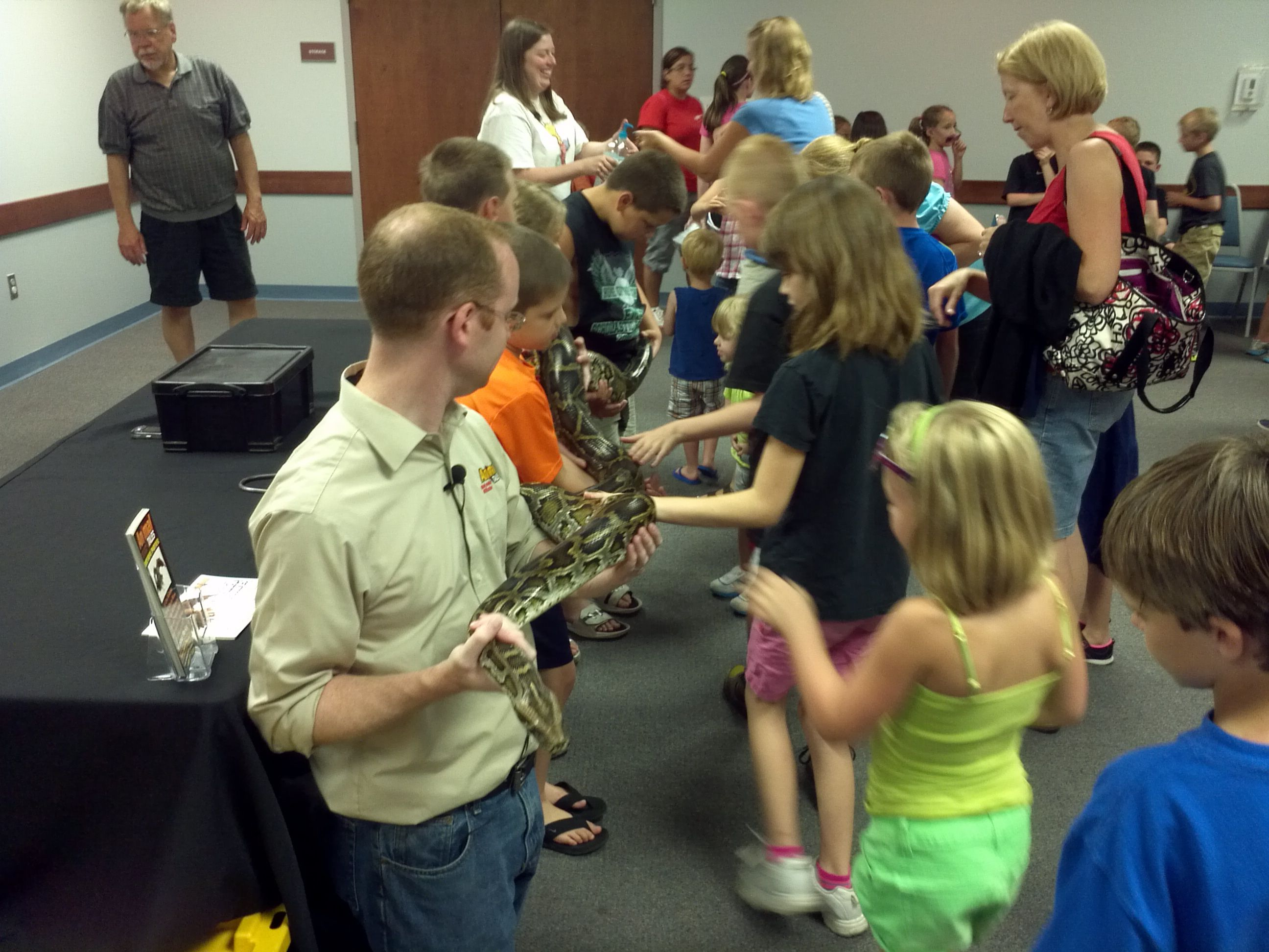 Reptile Day Summer Reading 2013
