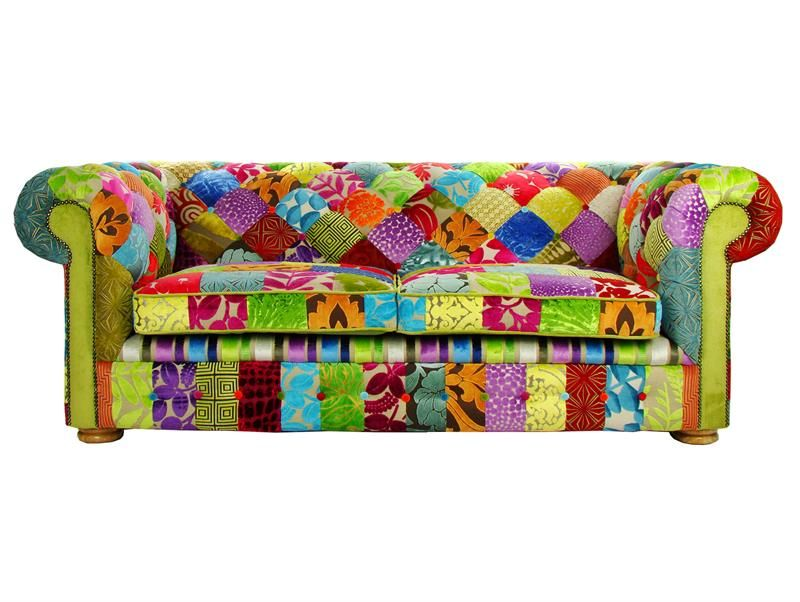 Chesterfield Patchwork Sofa From Justina Design Great