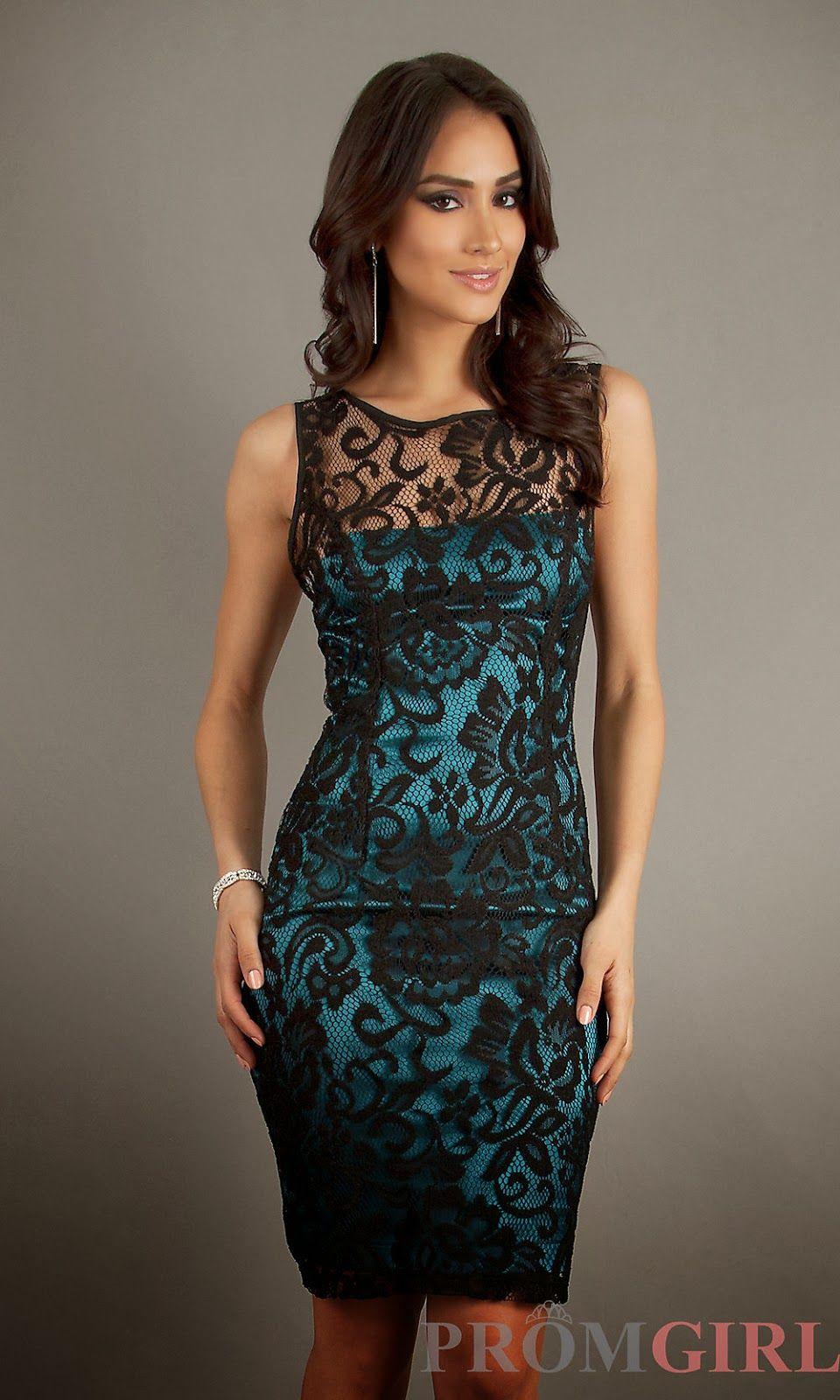 Maravillosos Vestidos De Fiesta Con Encaje Colección 2014