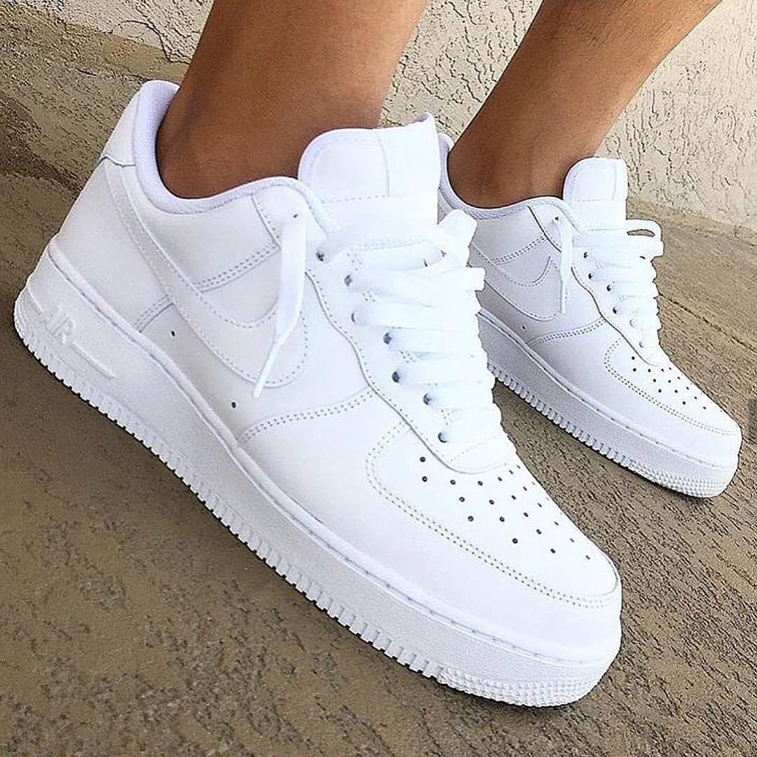 zapatillas nike air force mujer blancas