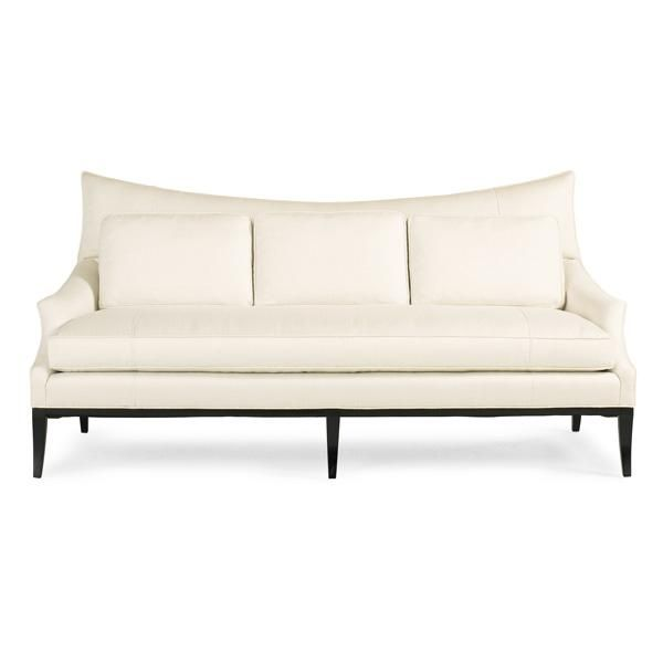 #Caracole: White Noise. At just under 80-inches wide, this is a versatile mid-sized sofa that reads modern and traditional at the same time.