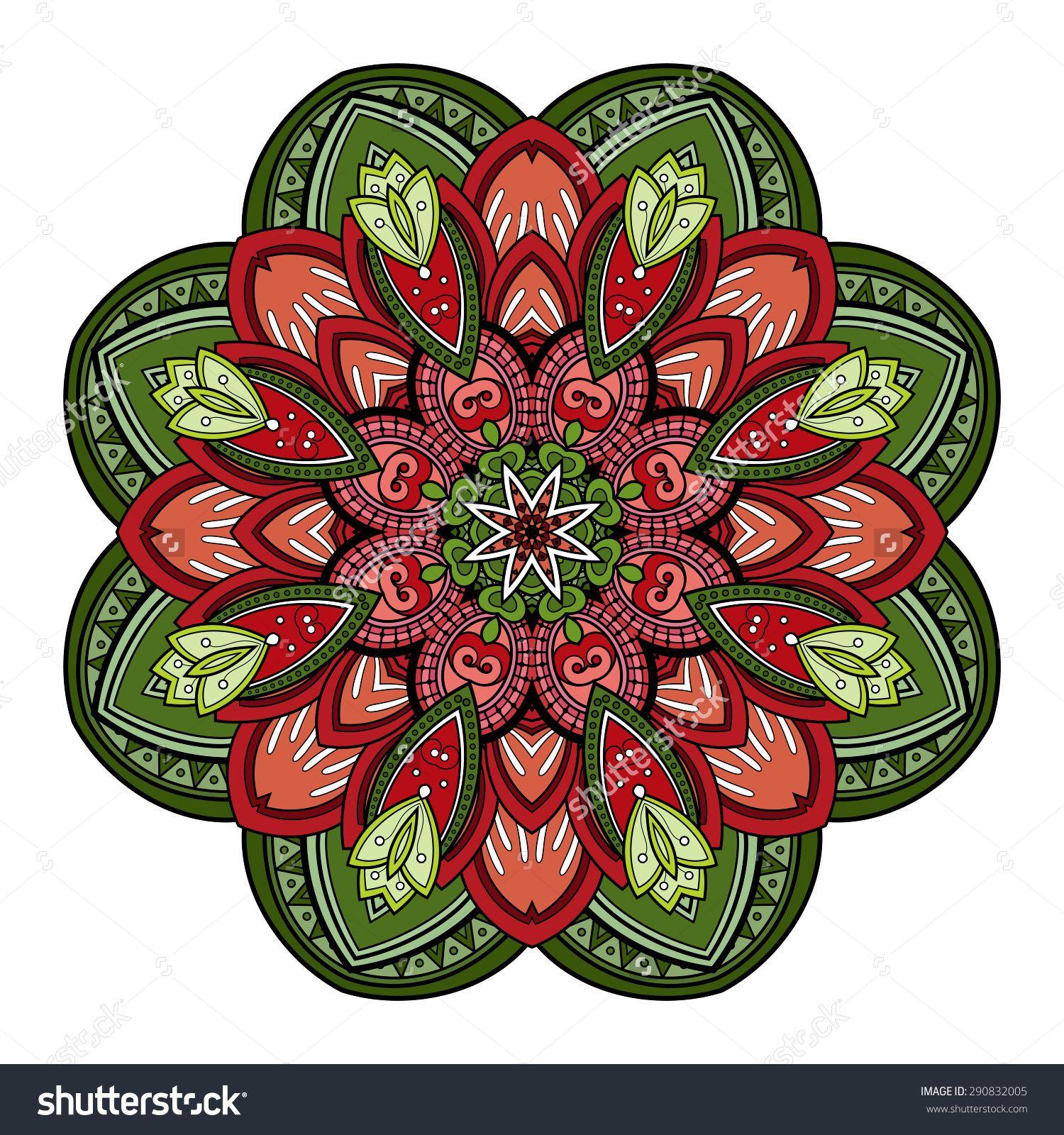 colored mandalas - Google Search                                                                                                                                                                                 More