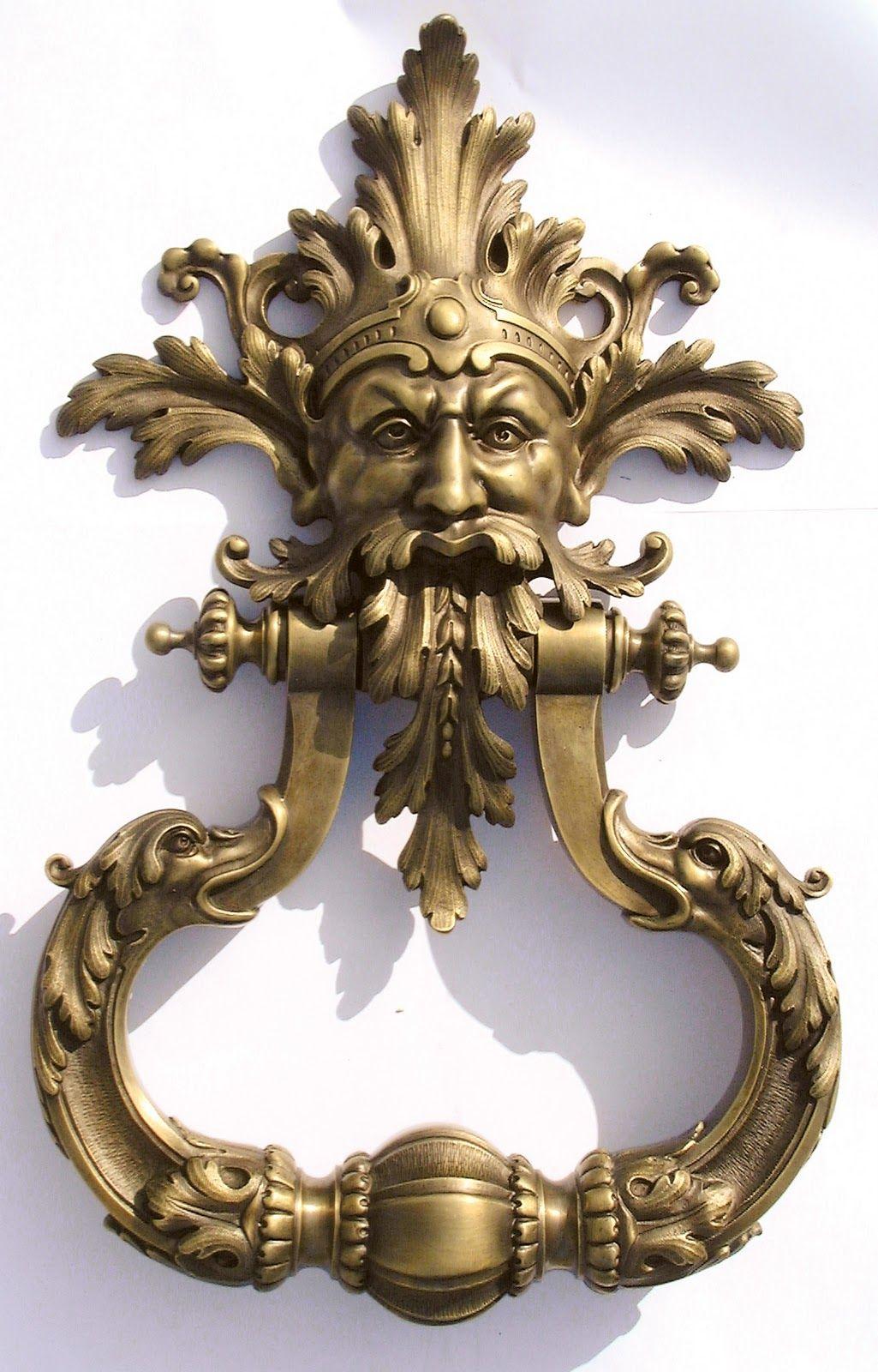 Bronzes De France   Way Cool Door Knocker!