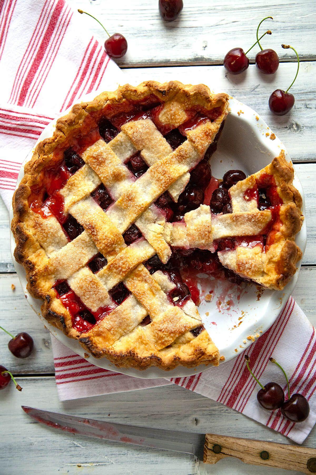 Homemade Cherry Pie Recipe Homemade Cherry Pies Best Cherry