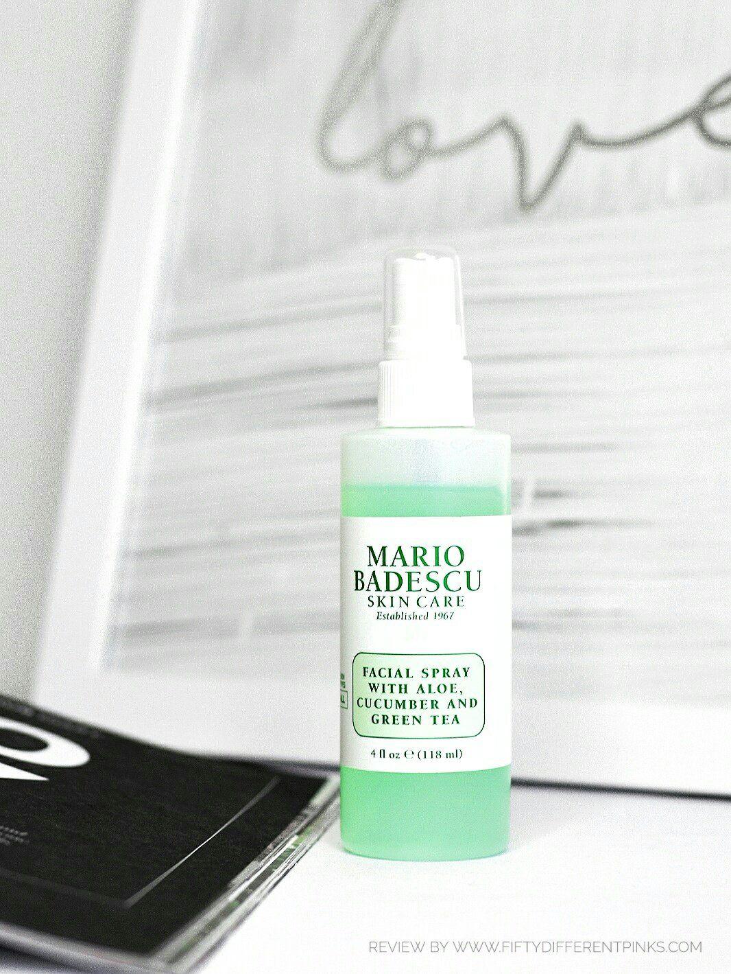 Mario Badescu Review Facial Spray With Aloe Cucumber And