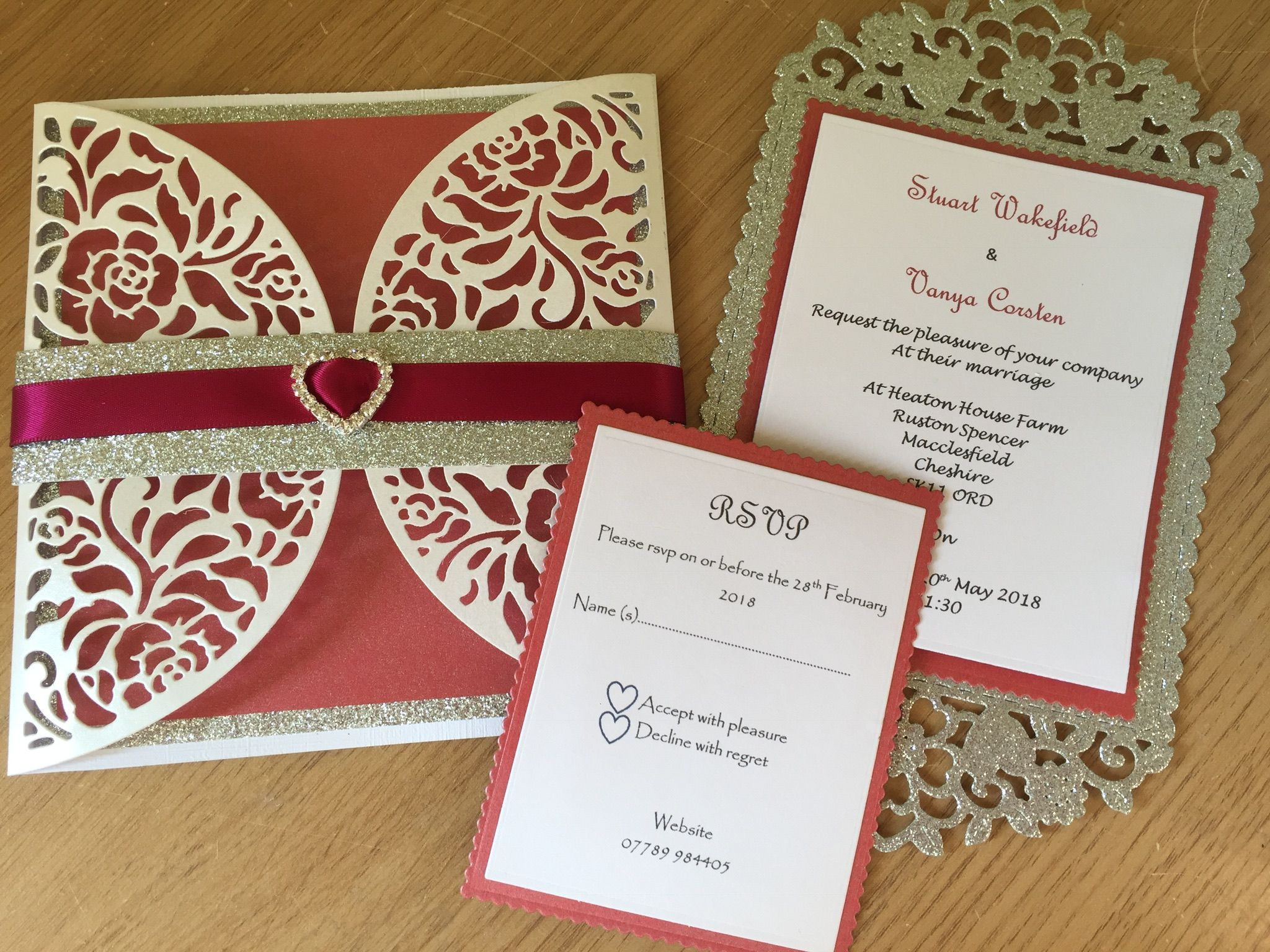Pin by Lucy Rogan on Homemade wedding invitations | Pinterest ...
