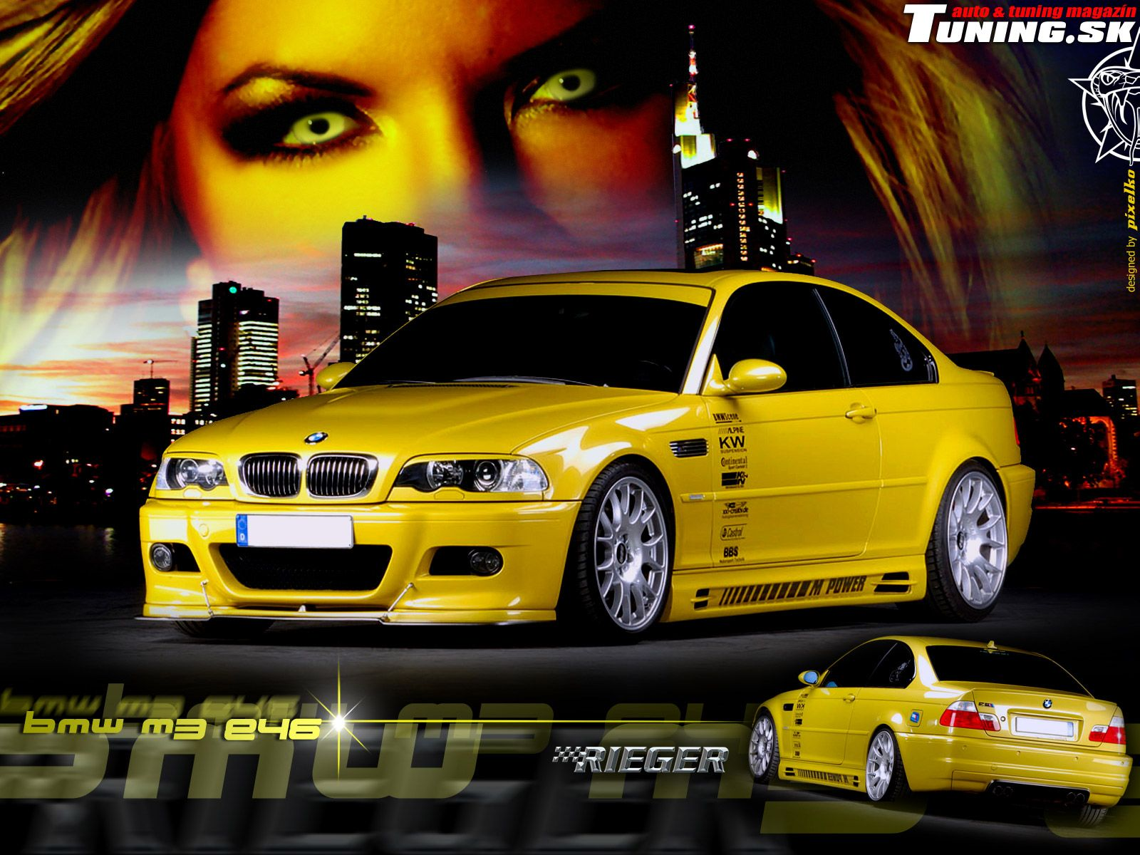 Amazing Rieger Tuning Bmw M3 E46 19655 Tuning Wallpaper Photo Bmw Tuning Bmw Bmw M3 Top Cars
