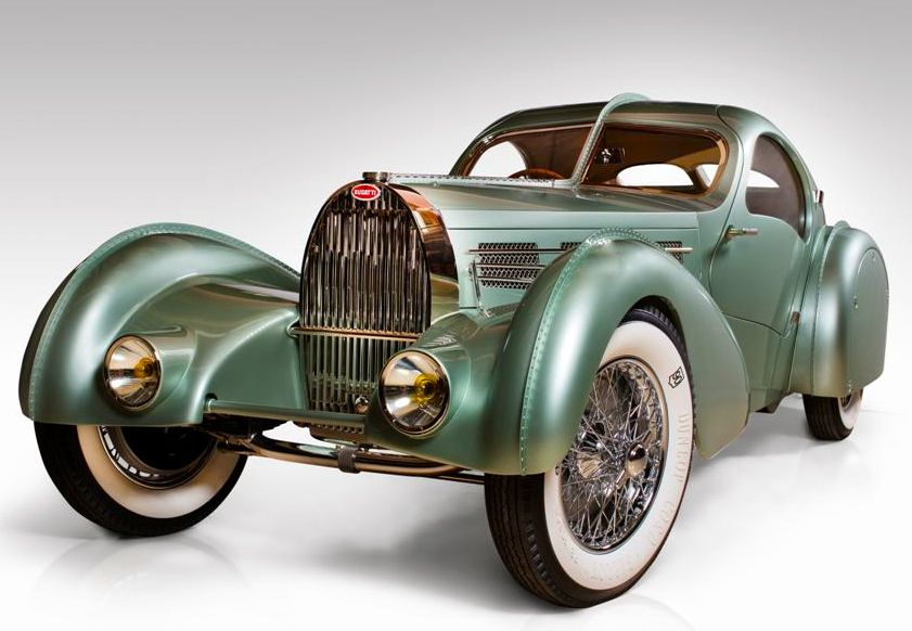Car of the year was the recreation of the Bugatti 57SC Aerolithe by David Grainger of the  Guild of Master Craftsmen, Canada