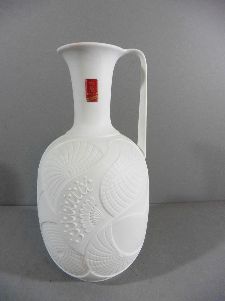 Details Zu Ak Kaiser Porzellan 1 Blumenvase Tisch Vase Weiss