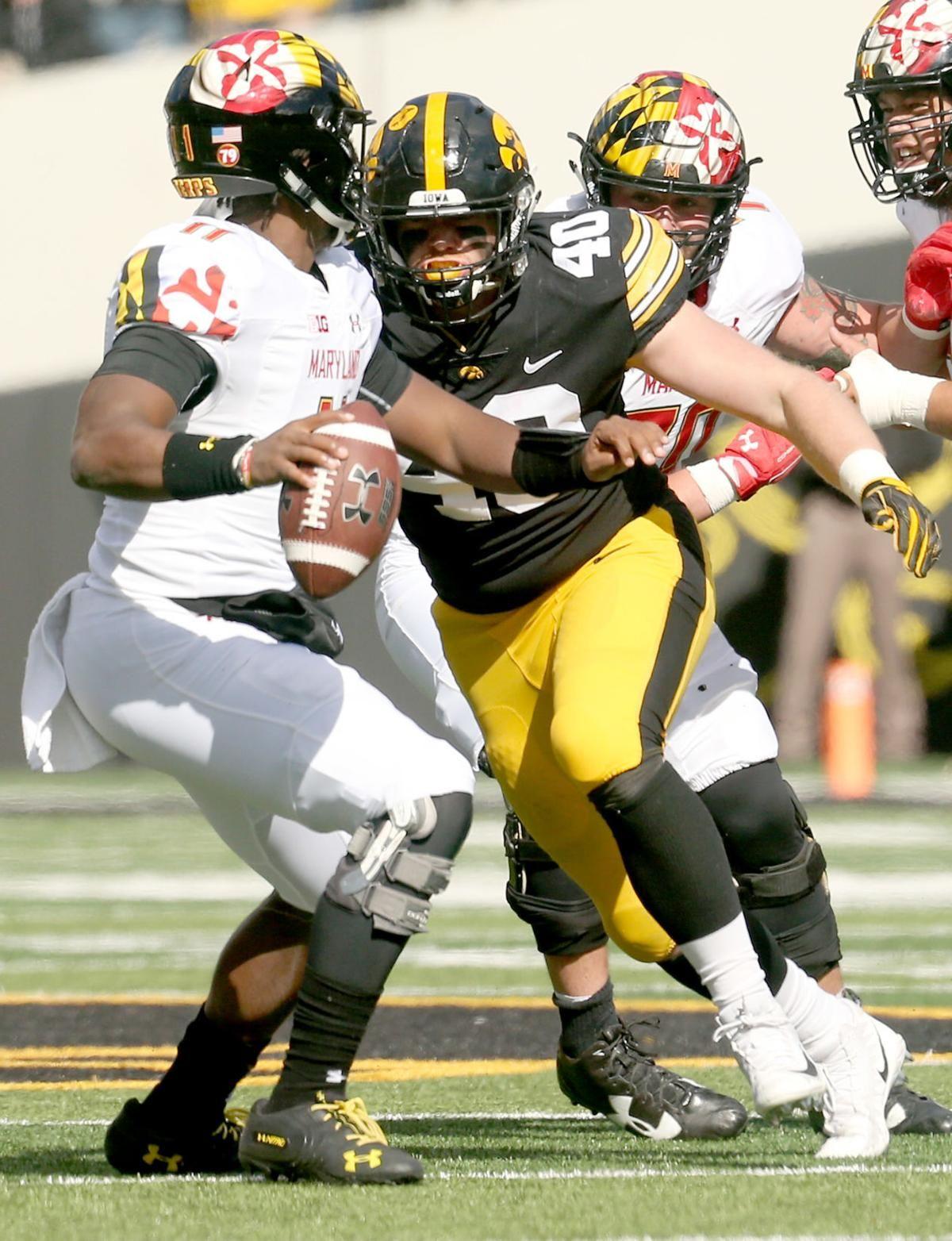 10 10 Iowa S Unsung Hero State S Dual Threat Quarterback Depth Chart Unsung Hero Iowa Football