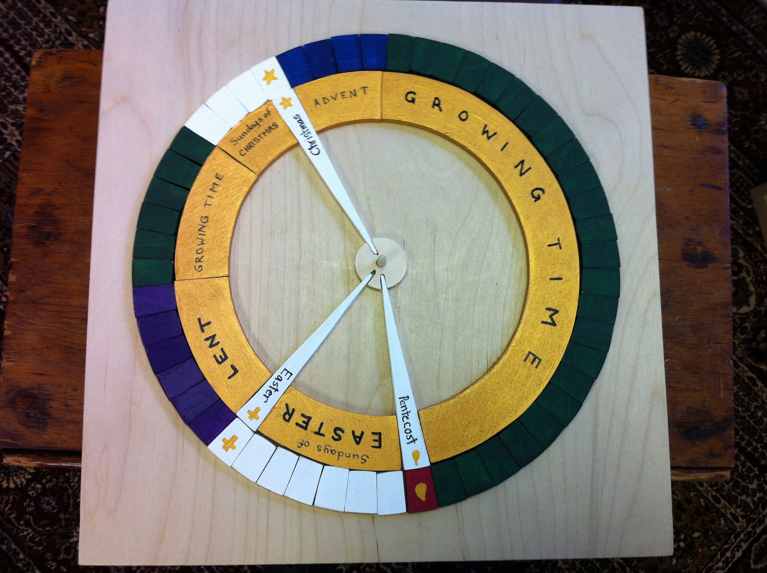 Liturgical Calendar Puzzle
