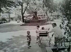 Aufsessplatz in den 60er Jahren