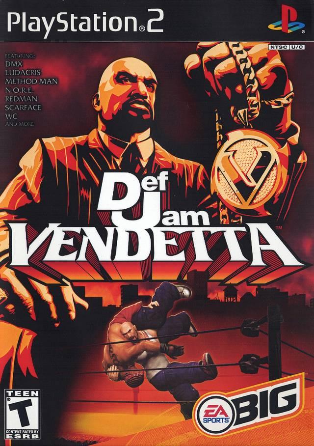 Def Jam Vendetta Ps2 Iso Download Portalroms Com Jogos De Playstation Video Games Antigos Jogos Ps2