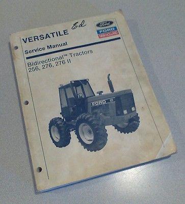 Versatile new holland 256 276 276 ii tractor service shop repair versatile new holland 256 276 276 ii tractor fandeluxe Gallery