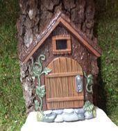 Photo of Fairy door / door of Gnome- Fata porta / porta di Gnome Hvis du vil at de skal …