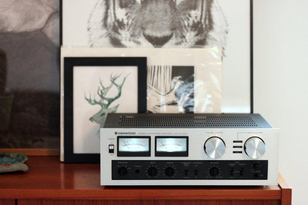 Kenwood KA-405 Vintage hi fi stereo equipment integrated
