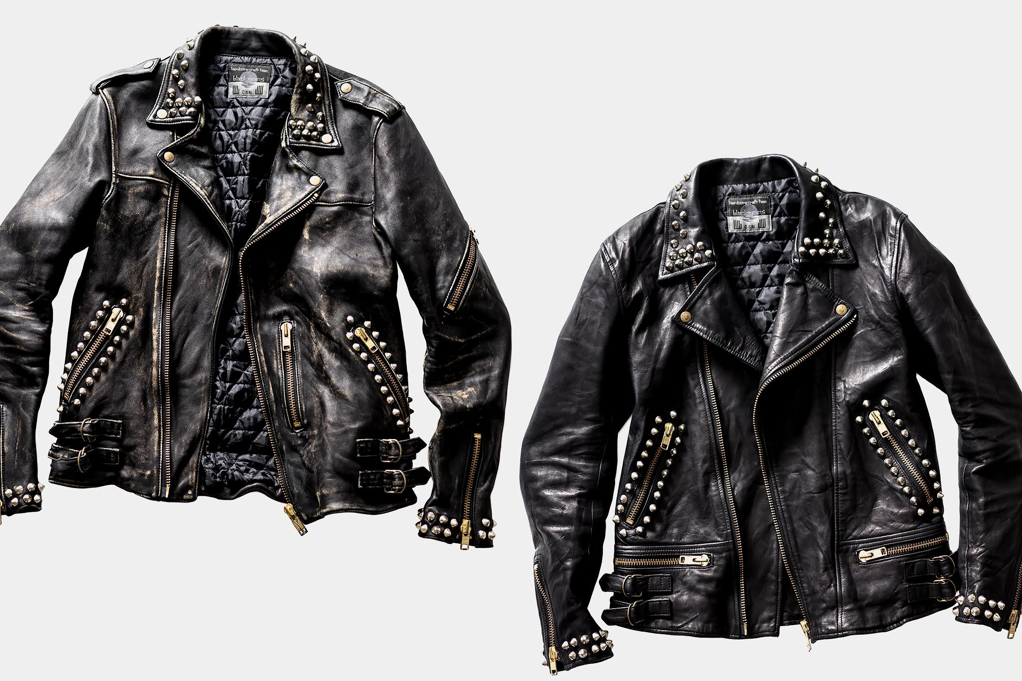 Blackmeans For Haven Vintage Finish Leather Riders Blackmeans Haven Havenshop [ 1365 x 2048 Pixel ]