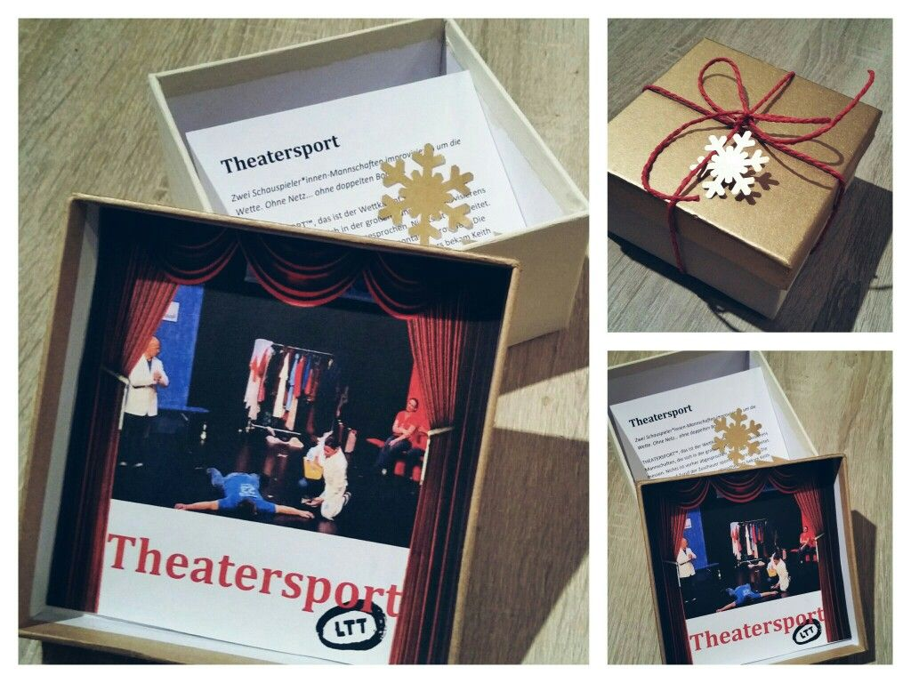 gutschein box theater  sport