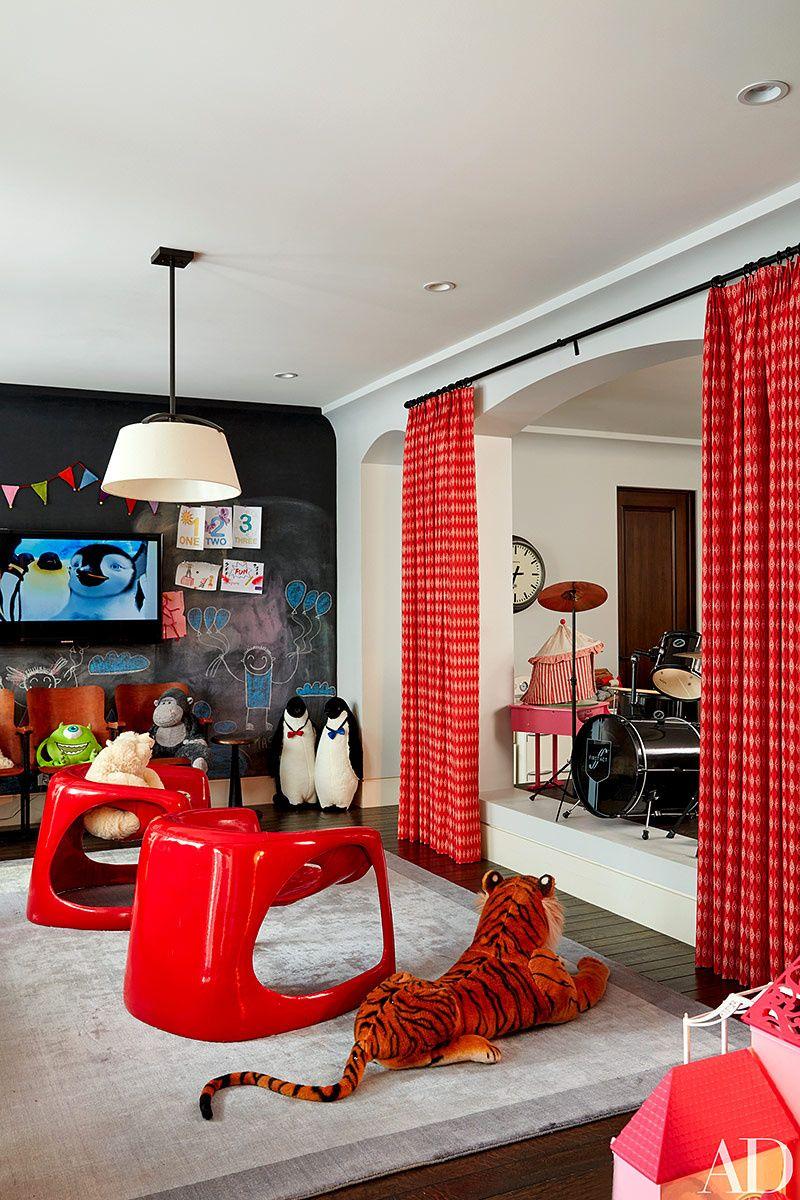 House Kourtney Kardashian playroom Pinterest