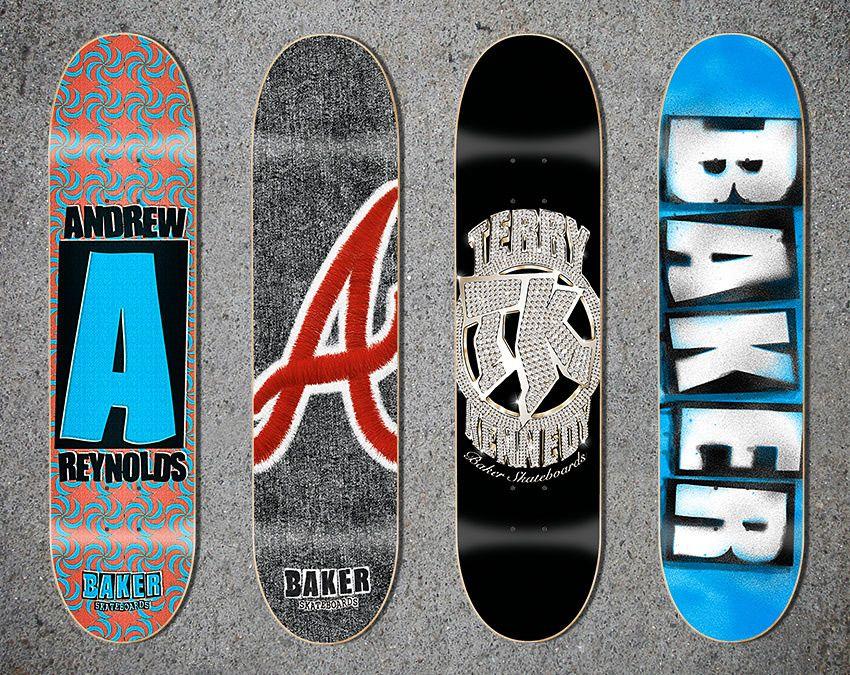 Baker Skateboard Graphics Classic Skateboard Skateboard Baker