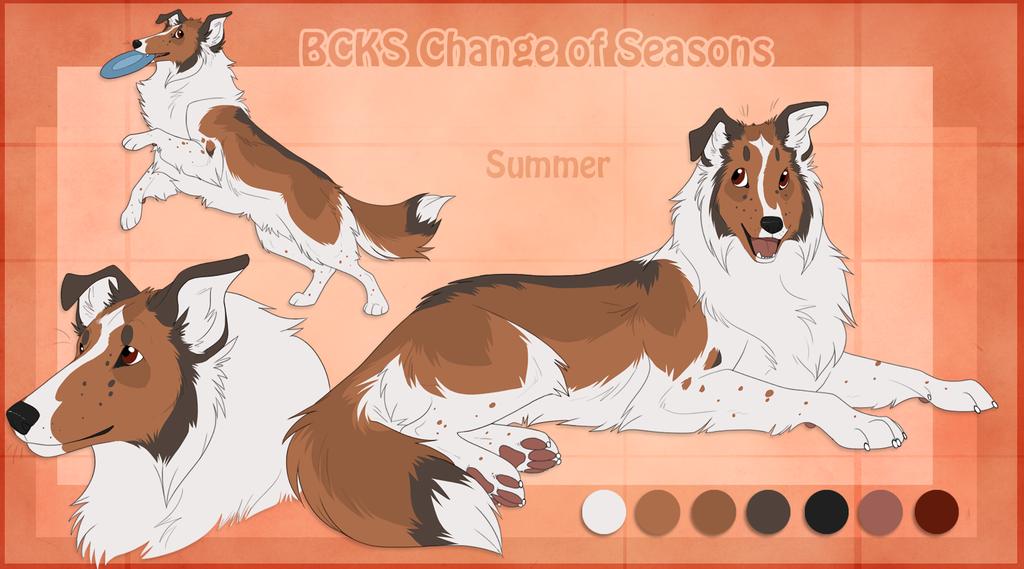 STS Dog - Summer by ShockTherapyStables.deviantart.com on @deviantART