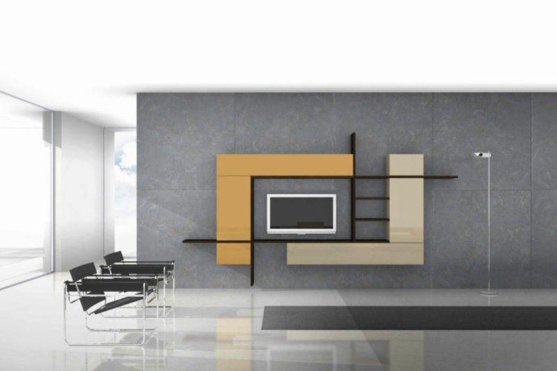Tv Wall Modern Concrete Wall Minimalist Living Room Furniture Design Modern Tv Cabinet Design