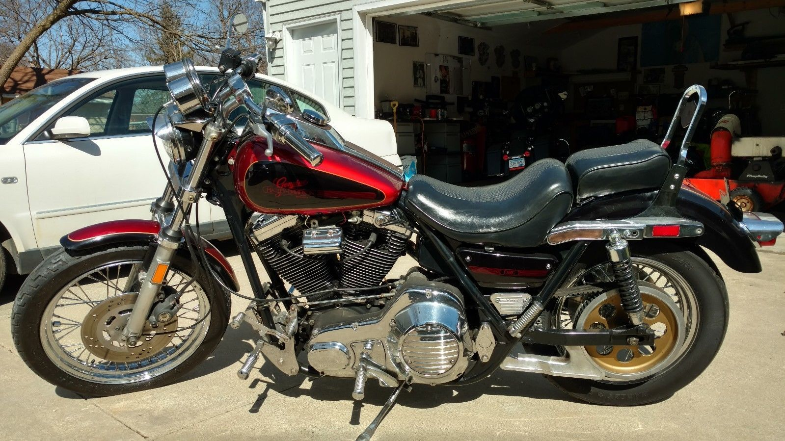 eBay: 1986 Harley-Davidson FXR Harley Davidson FXRC
