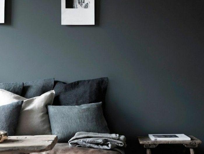 Quelle peinture choisir pour l\u0027intérieur, idées en 55 photos! Gray
