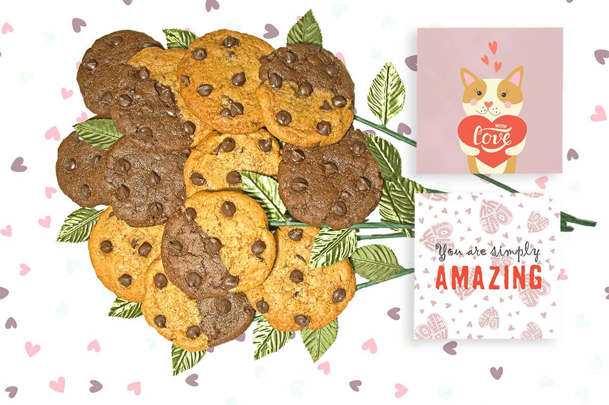 You are simply AMAZING Cookie Bouquet Long Stem Cookie
