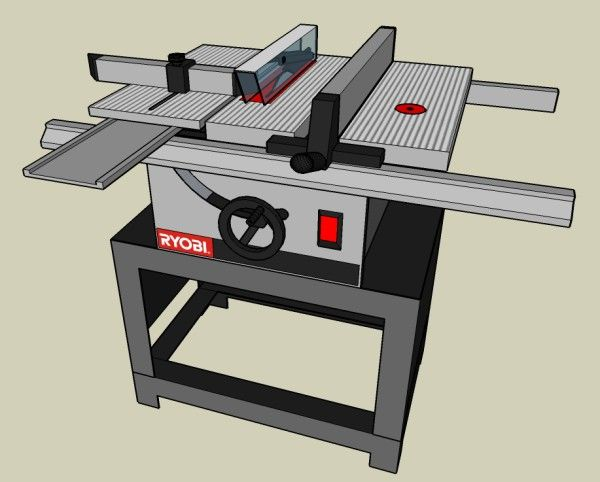 Ryobi Bt3000 Combination Table Saw Router Table Table Saw