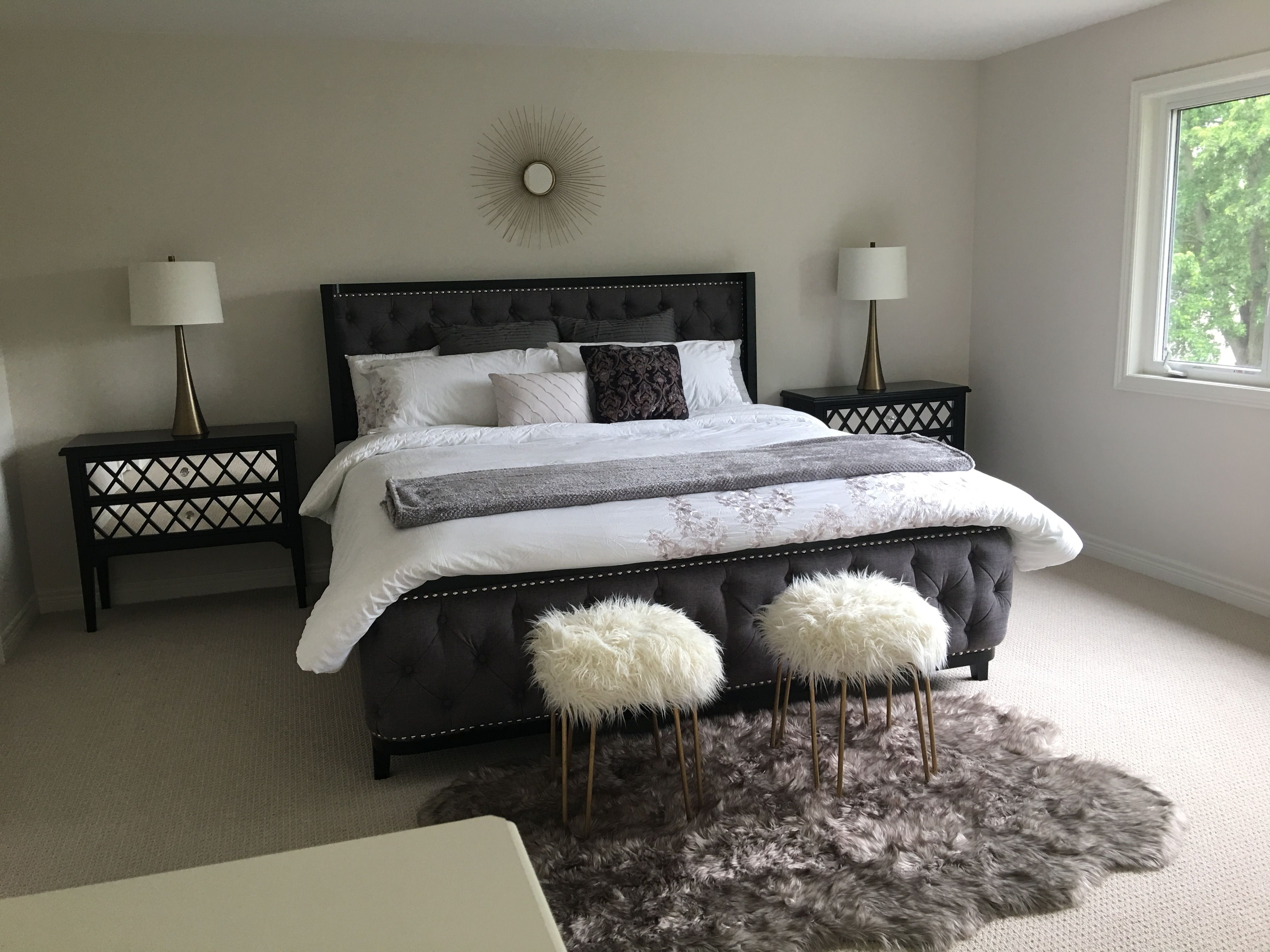 gold and white master bedroom Grey, Gold and White Master Bedroom ideas | Bedroom | Pinterest | Master bedroom and Bedrooms