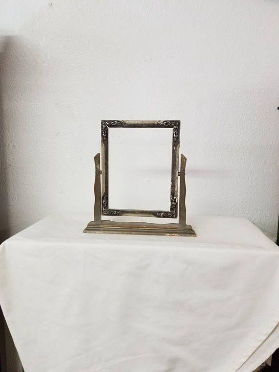 Antique Picture Frame, Antique frame, Wood Frame, Standing Frame ...