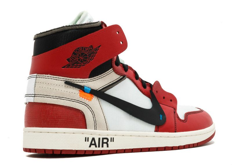 Off White X Nike 2018 THE 10 AIR JORDAN 1 OFF WHITE aa3834 101 Black