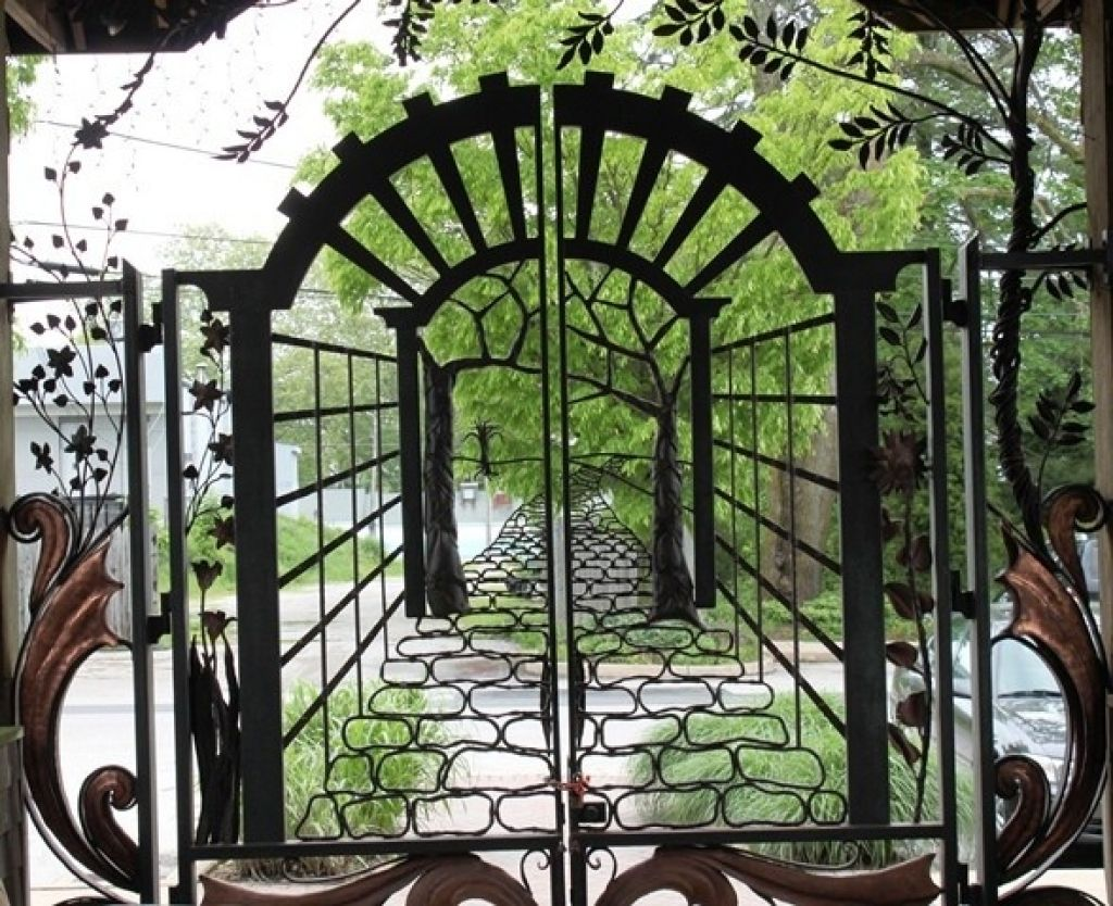 Used Wrought Iron Garden Gates For Sale Wrought Iron Garden Gates Iron Garden Gates Metal Garden Gates