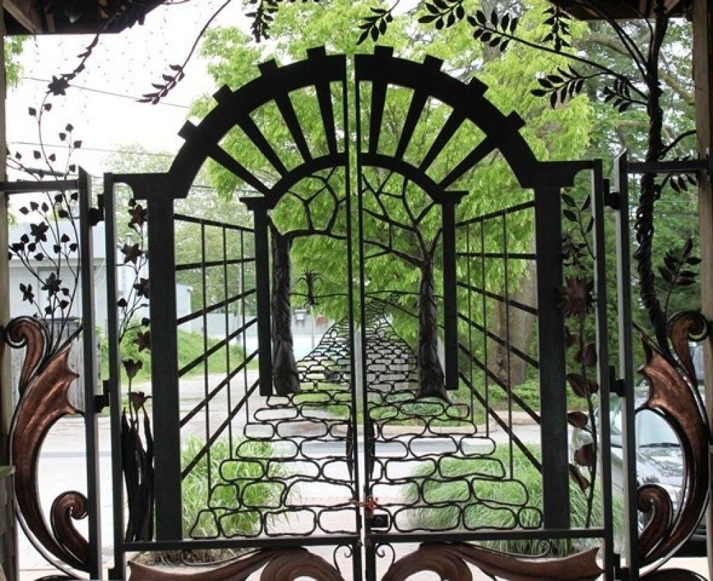 Used Wrought Iron Garden Gates For Sale Wrought Iron Garden
