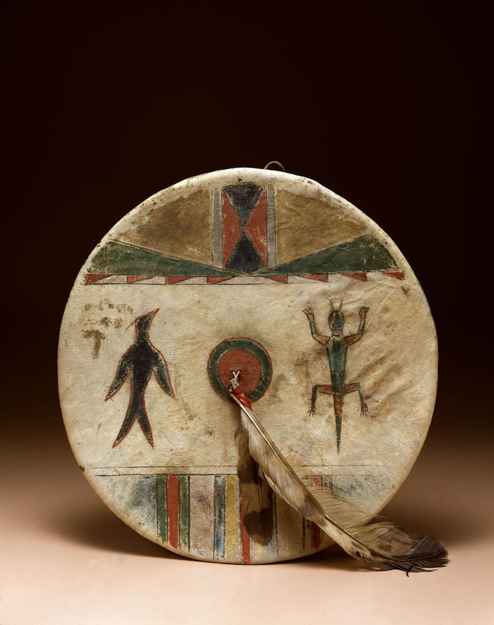 Tsitsistas cheyenne artist shield cover 19th century for Cheyenne tribe arts and crafts