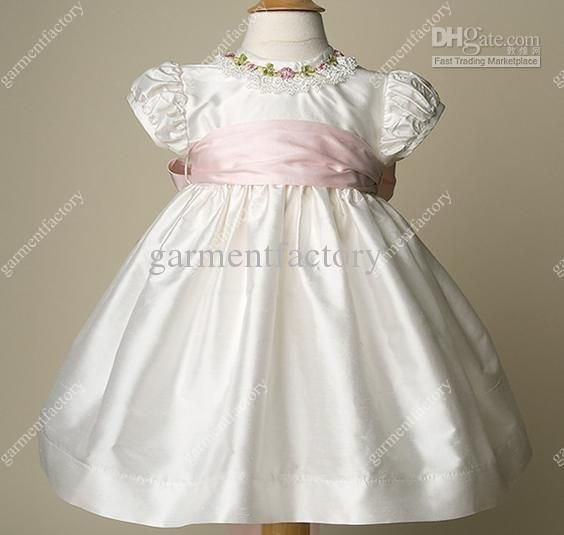 Toddler Christening Dresses for Girls | blue design background ...