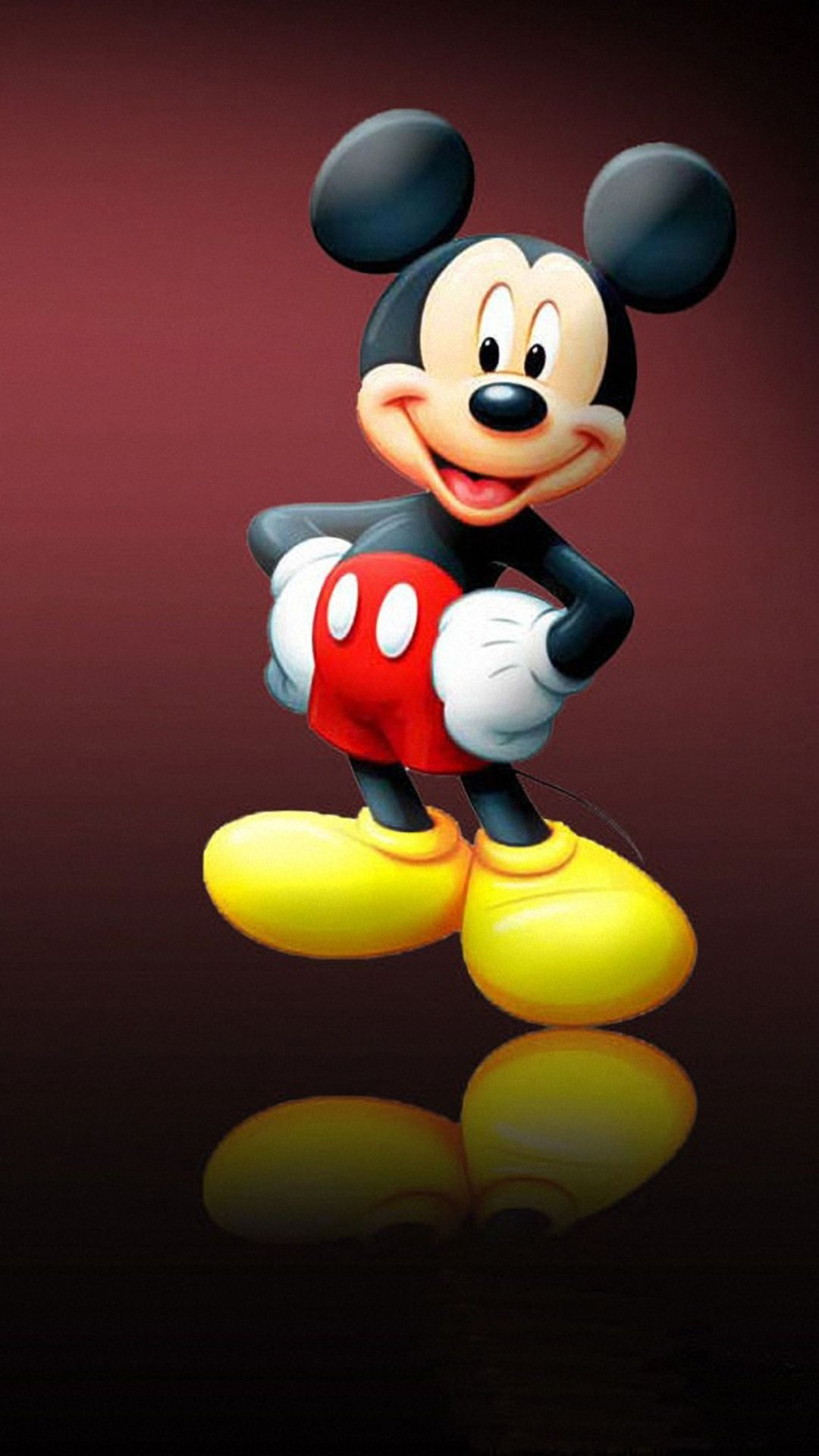 Cute Mickey Mouse Wallpaper Hd in 2020 Mickey mouse