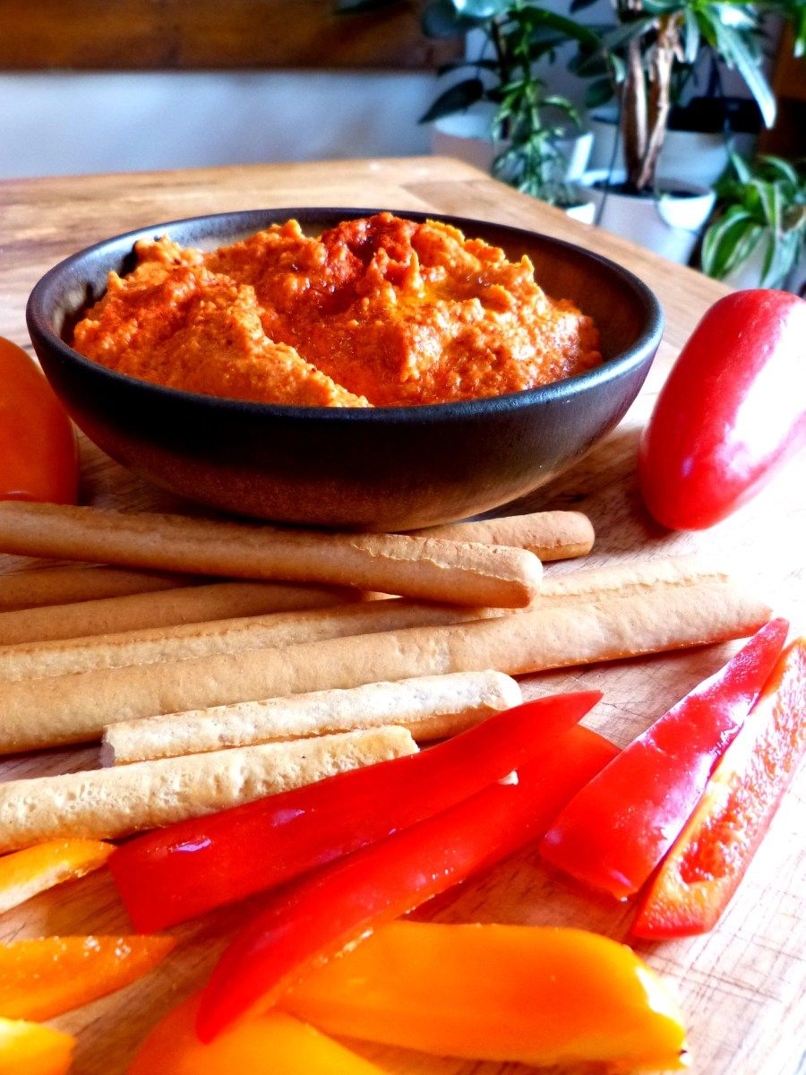 This Smoky Red Pepper Hummus Recipe Is Dedicated To My