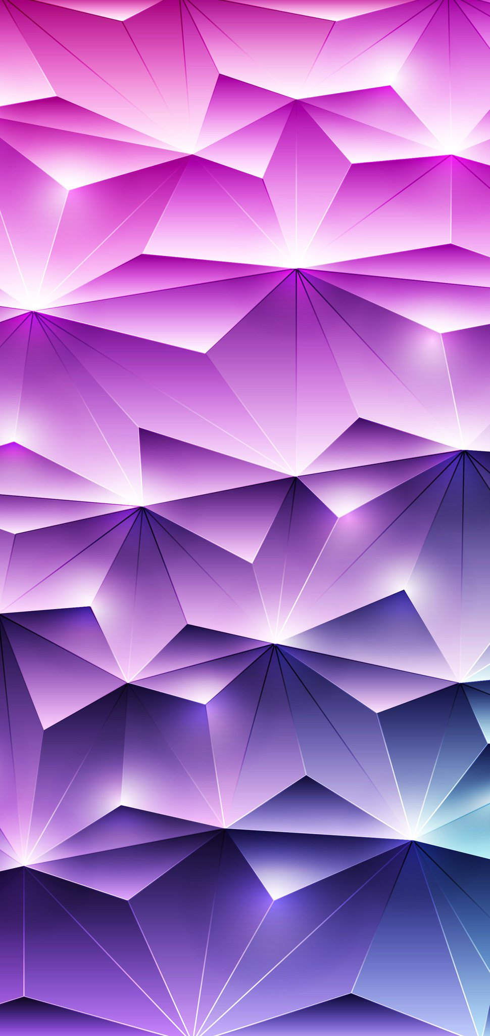 Abstract geometric iPhone wallpaper pack in 2020