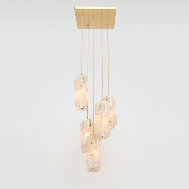 Esterel 5 Pendant Chandelier Pagani Lighting Home
