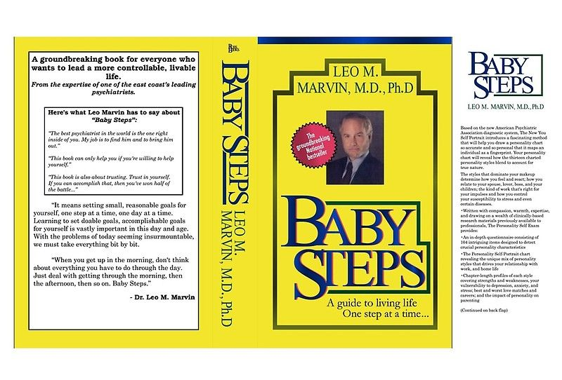 Baby Steps By Dr Leo M Marvin M D Ph D Art Board Print By Mattsnow Leo Baby Steps Marvin