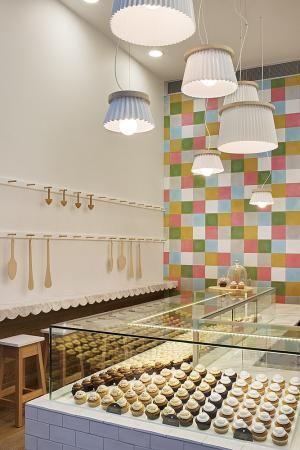 Joy Cupcakes Cake Shop Design by MIM Design Shop Design Gallery