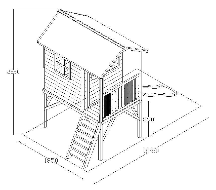 plan de montage cabane en bois - Recherche Google | Cabane bois, Bois, Cabane