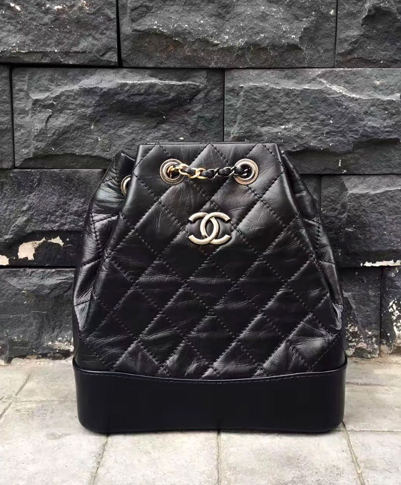 2017 Chanel Gabrielle Backpack A94485 in Black.  9bf5703d281e9