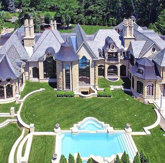 Mansions, Luxury Homes, House Styles