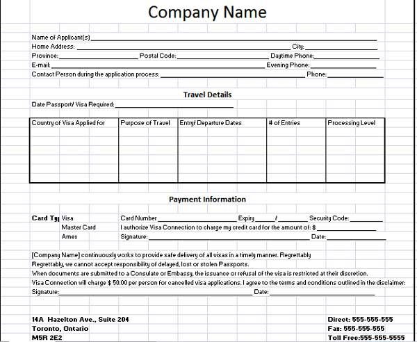 Client Information Sheet Template The template consists of - lost passport form