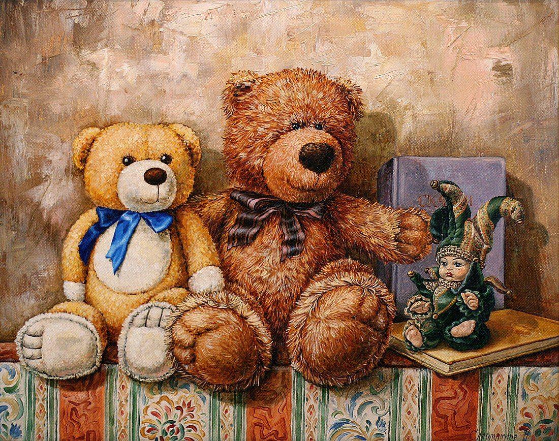 Открытки с изображением медведей